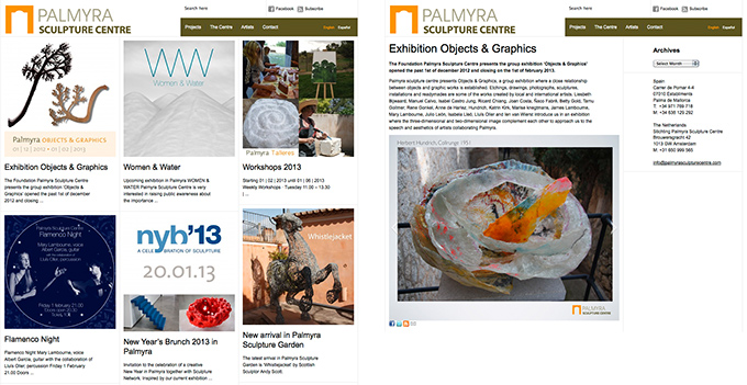 Palmyra Sculpture Centre- website